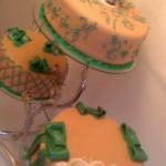 3 emeletes esküvői torta 3