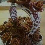 Grillázs kosár torta