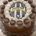 Juventus címeres gesztenye torta
