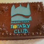 Rotary logós torta