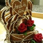 szívkorona grillázs torta